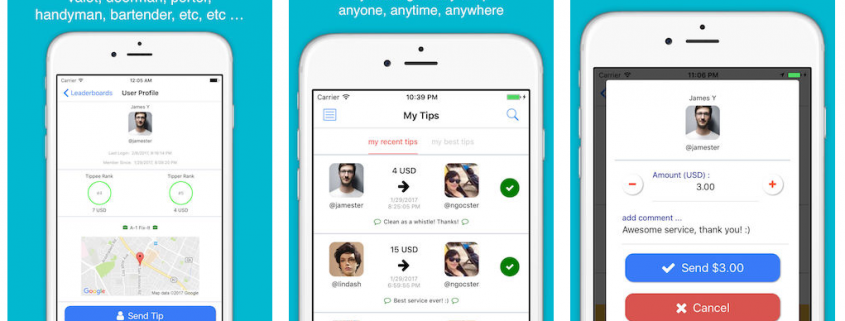 Features of Tip Genie Mobile App